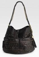 Olivia Harris Studded Ball Hobo
