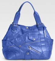 Alexander McQueen Leather Biker Tote