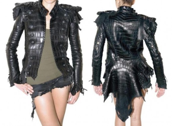 Balmain Crocodile Tail Jacket