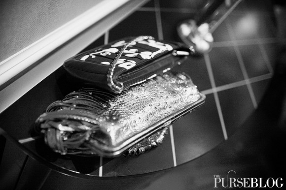 Chanel Bag and Katherine Kwei Clutch