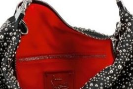Christian Louboutin Studs Marianna Shoulder Bag