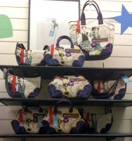 Danny Roberts Harajuku Lovers Bag Display