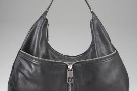 Fendi Leather Front Zip Hobo