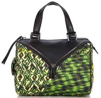 L.A.M.B. Signature Worthington Satchel in African Argyle
