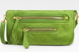 Linea Pelle Leather Folding Clutch