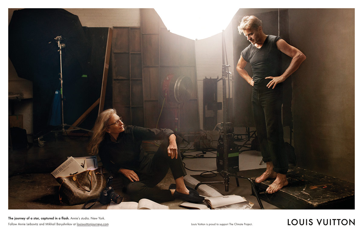 Louis Vuitton Core Values Annie Leibovitz With Mikhail