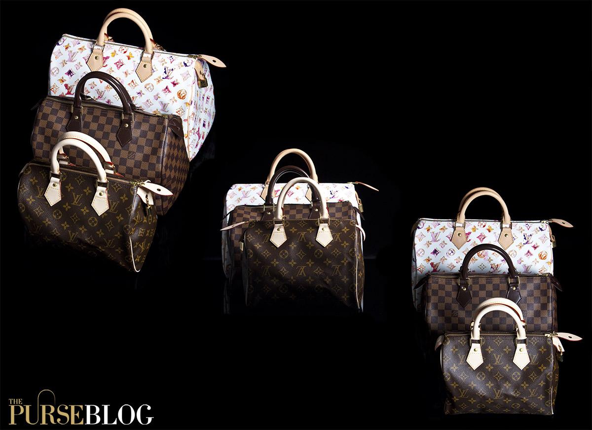 c2e057491ea Louis Vuitton Speedy size comparison. Contenders in this iconic trifecta