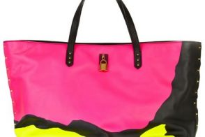 Marc Jacobs Love Bird Leather Tote