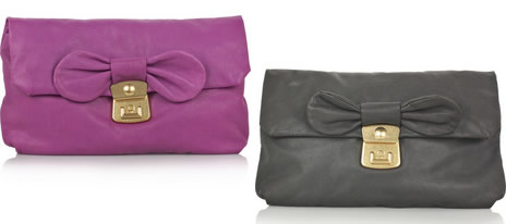 Marc by Marc Jacobs Linda Bow Clutch