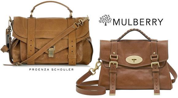 Schouler Mulberry Alexa Purseblog Vs Ps1 Proenza BoxdCWer