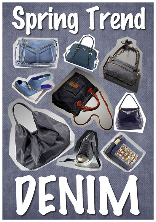 Spring Trend Denim Bags