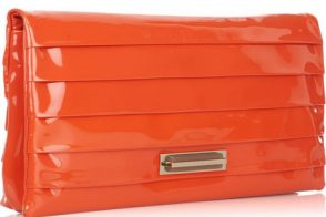 Anya Hindmarch Byron Patent Leather Clutch