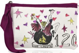 Lanvin Love Canvas Pochette