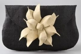 Mar Y Sol Gigi Flower Clutch