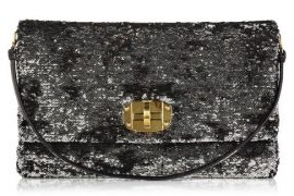 Miu Miu Oversized Sequin Clutch