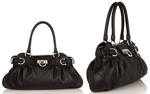 Salvatore Ferragamo Safari Calfskin Shoulder Bag