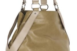 Yves Saint Laurent Yes Large Leather Tote