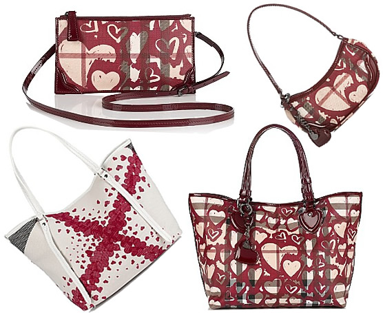 Burberry Heart Print Bags Purse. Prevnext. Burberry Burgundy Nova Check  Canvas Heart Pact Wallet 102195. Valentines Day Gift Idea ... 12466908c6975