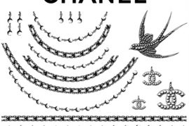 Chanel Temporary Tattoos