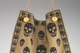 Alexander McQueen Skull Print Canvas Shopper