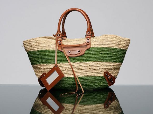 Соломенные и кожаные сумки от ZukerkaСоломенные сумки