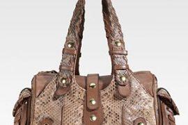Chloe Silverado Python Shoulder Bag