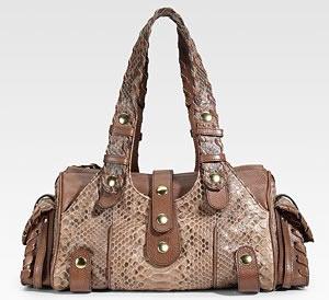 Chloe Silverado Python Shoulder Bag - PurseBlog a16527fcb598