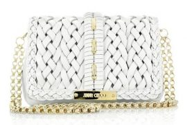 Jimmy Choo Cecile Woven Bag