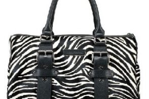 Kate Moss for Longchamp Zebra Pony Polonchon Gloste Tote