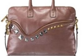 Marc Jacobs The Firebird Rio Studded Leather Satchel