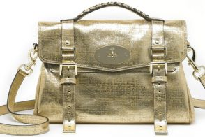 Limited Edition Mulberry Alexa in Gold