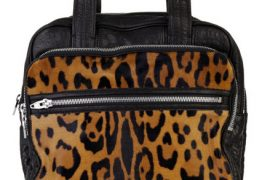 Alexander Wang Millie Leopard Bag
