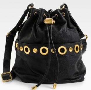 Badgley Mischka Platinum Label Erin Drawstring Bag
