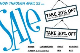 Spend More, Save More at Bloomingdale's!