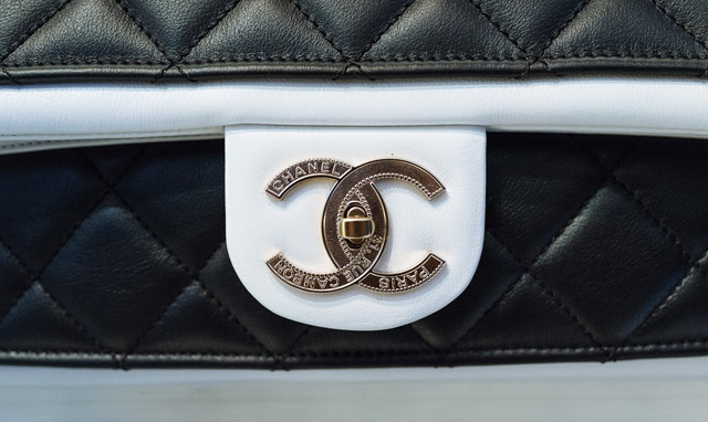 Chanel Flap Bag Up Close
