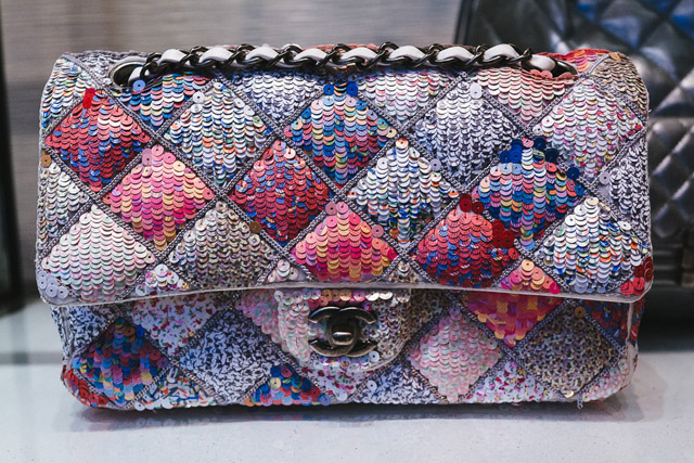 Chanel Sequin Classic Flap Bag