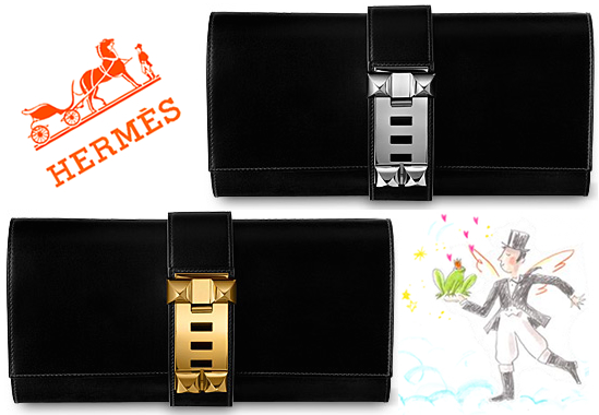 75307454f71f Weekend Obsession  Hermes Medor Clutch - PurseBlog