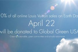 Louis Vuitton Celebrates Earth Day