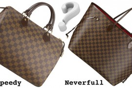 Ask Megs: Louis Vuitton Speedy versus Neverfull