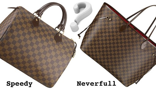 Louis Vuitton Speedy versus Neverfull
