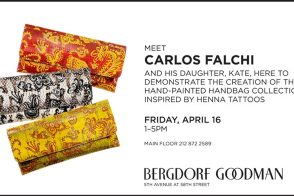 Carlos Falchi Personal Appearance at Bergdorf Goodman