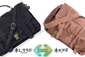 Look for Less: Proenza Schouler PS1 vs Joie Messenger Bag