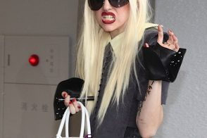 Lady Gaga sends a Birkin message to her Japanese fans