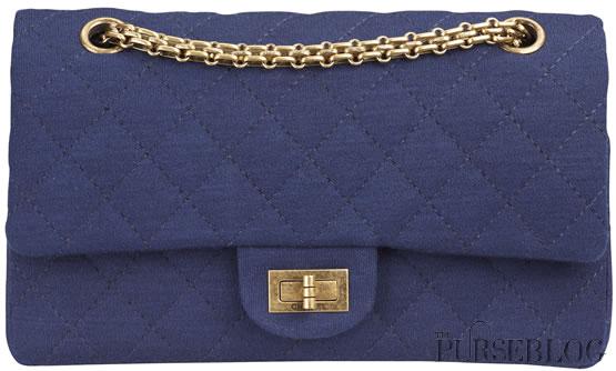 1a25ea3066ff23 Chanel Blue Jersey 2.55 - PurseBlog