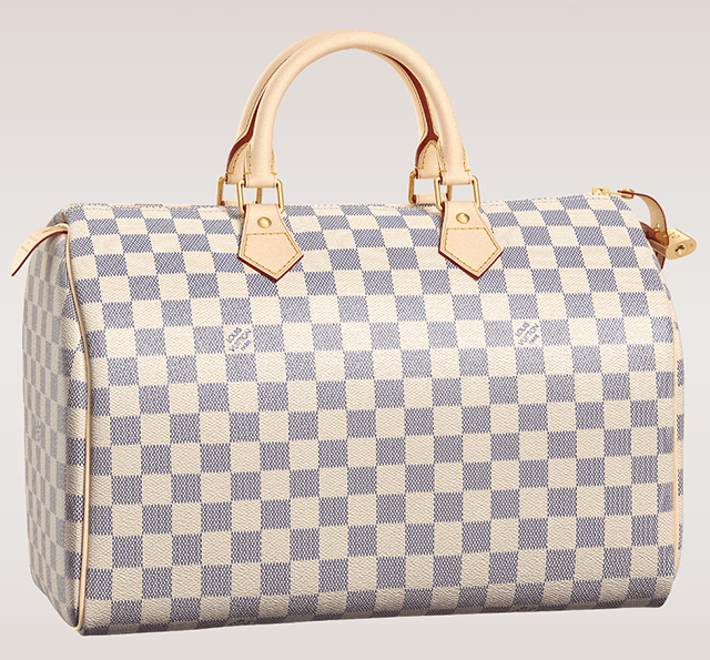 Louis Vuitton Damier Azur Sdy 35