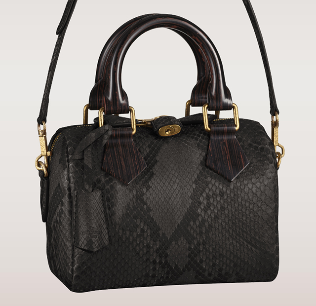 Louis Vuitton Python Speedy 20 Bag