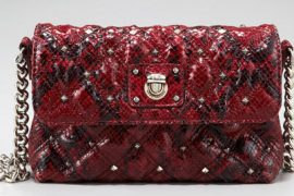 Good things come in small packages: The Marc Jacobs Studded Python Single