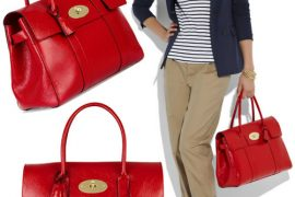 A Truly Red Leather Mulberry Bayswater Hits Net-A-Porter
