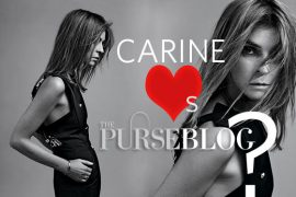 Carine Roitfeld (Accidentally) Followed PurseBlog On Twitter