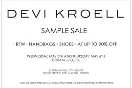 Devi Kroell Sample Sale